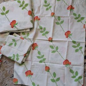 Pristine Vintage Samsutta Double Sheet Set